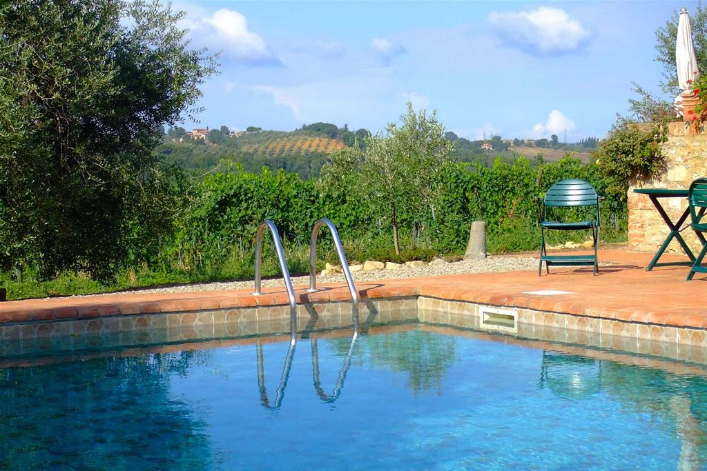 Nuotare Fra Le Colline Del Chianti In Toscana A Monaciano